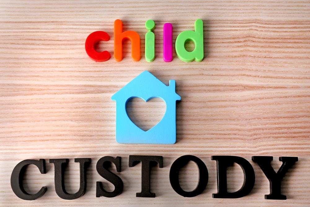 sharing child custody